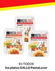 Oferta de Platos Gallo PastaLover por