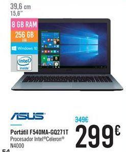 Oferta de Portátil F540MA-GQ271T por 299€