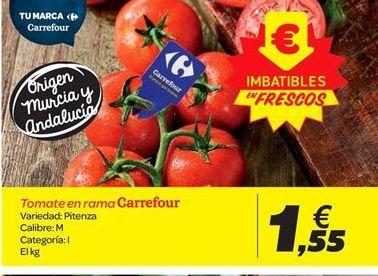 Oferta de Tomate en rama Carrefour por 1.55€