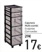 Oferta de Cajonera MULTI-COMBI por 17€