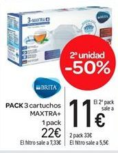 Oferta de Pack 3 cartuchos por 22€