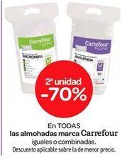 Oferta de En TODAS las almohadas marca Carrefour por