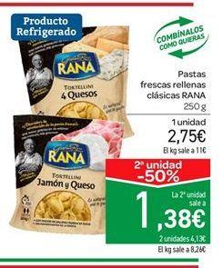 Oferta de Pasta fresca Rana por 2.75€