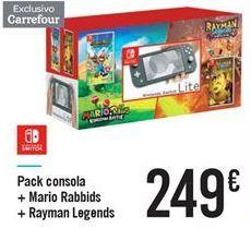 Oferta de Pack consola por 249€