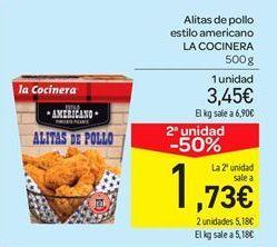 Oferta de Alitas de pollo estilo americano por 3.45€