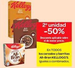 Oferta de En TODOS los cereales y barritas All-Bran KELLOGG'S por