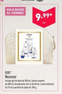 Oferta de Neceser Dove por 9.99€