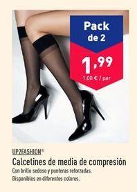Oferta de Calcetines mujer up fashion por 1.99€