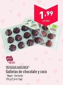 Oferta de Galletas de chocolate Patissier Gaulthier por 1.99€