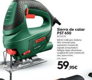 Oferta de Sierra de calar Bosch por 59.95€