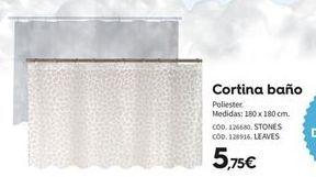 Oferta de Cortina de baño por 5.75€