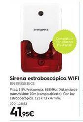 Oferta de Domótica y seguridad energeeks por 41.95€