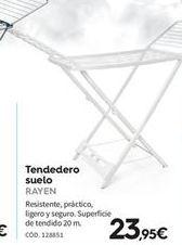 Oferta de Tendedero Rayen por 23.95€