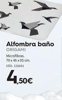Oferta de Alfombra de baño por 4.5€