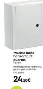 Oferta de Muebles de baño Tatay por 24.5€