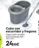 Oferta de Cubo con escurridor por 24.95€