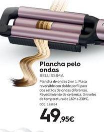 Oferta de Plancha de pelo por 49.95€