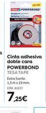 Oferta de Cinta adhesiva tesa por 7.25€