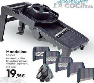 Oferta de Mandolina Lacor por 19,95€