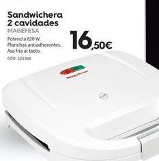 Oferta de Sandwichera Magefesa por 16.5€