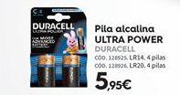 Oferta de Pilas alcalinas Duracell por 5.95€