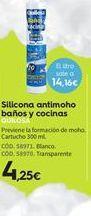 Oferta de Silicona antimoho Quilosa por 4.25€