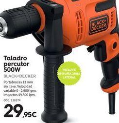 Oferta de Taladro percutor Black & Decker por 29.95€