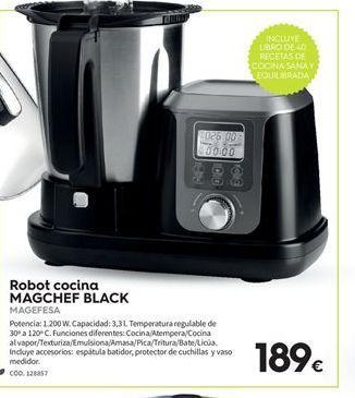 Oferta de Robot de cocina Magefesa por 189€