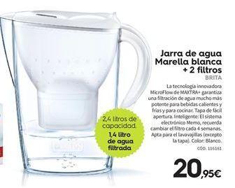 Oferta de Jarra de agua Brita por 20.95€