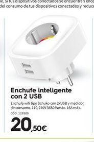 Oferta de Enchufes por 20.5€