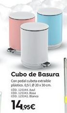 Oferta de Cubo de basura por 14.95€