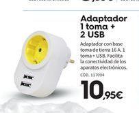 Oferta de Adaptador por 10.95€
