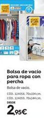 Oferta de Bolsas de vacío por 2.95€