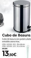 Oferta de Cubo de basura por 13.5€