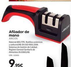 Oferta de Afilador cuchillos Arcos por 9.95€