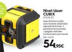 Oferta de Nivel láser Stanley por 54.95€