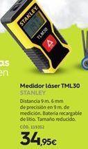 Oferta de Medidor láser Stanley por 34.95€