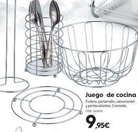 Oferta de Utensilios de cocina por 9.95€