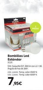 Oferta de Bombilla led RSR por 7.95€