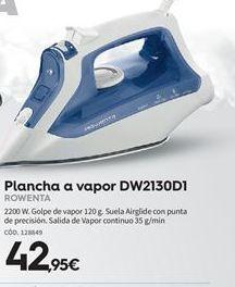 Oferta de Plancha de vapor Rowenta por 42.95€