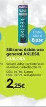 Oferta de Silicona ácida Quilosa por 2.25€