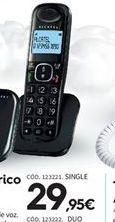 Oferta de Teléfono inalámbrico por 29.95€