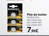 Oferta de Pilas Duracell por 7.95€