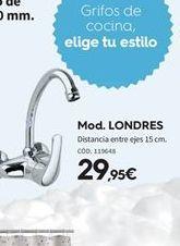 Oferta de Grifo de cocina por 29.95€