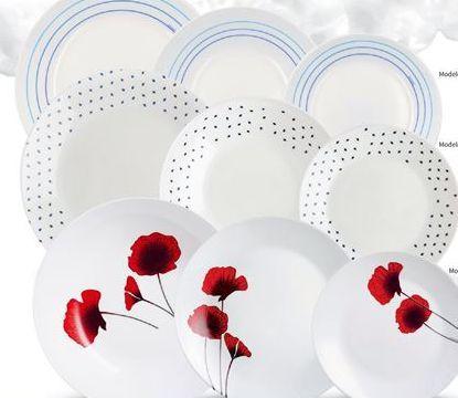 Oferta de Vajilla de porcelana arcopal por 18.95€