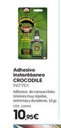 Oferta de Adhesivo instantáneo Pattex por 10.95€