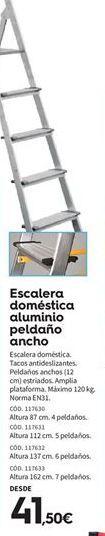 Oferta de Escalera doméstica por 41.5€