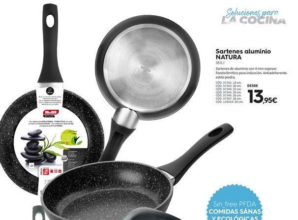 Oferta de Sartén de aluminio Ibili por 13.95€