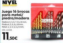Oferta de Brocas para metal por 11.5€