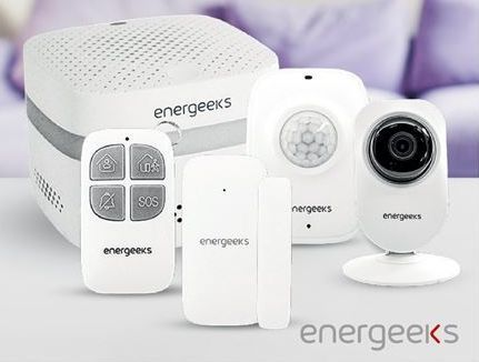 Oferta de Alarma energeeks por 109€